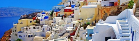 Colourful Santorini
