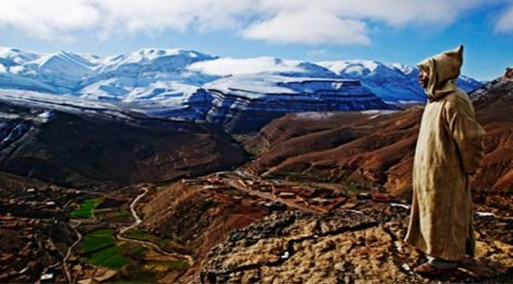 Mountaineering in the High Atlas Mountains of Morocco
